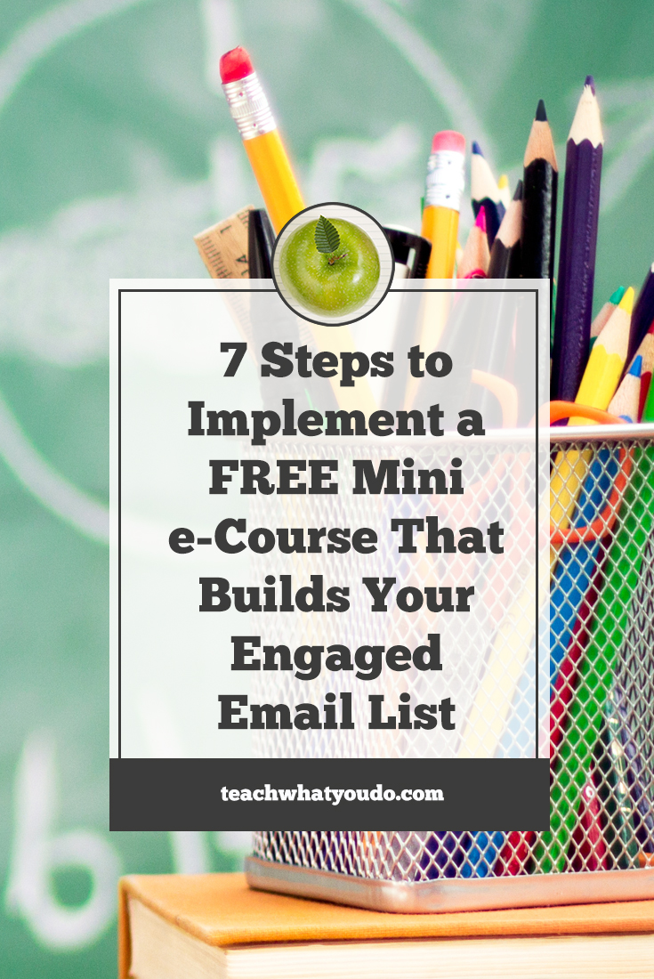 How to Build an Engaged Email List with a Free Mini e-Course