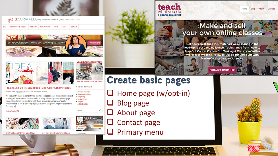Set Up Your Online Teaching Business On a WordPress Website | Teach What You Do