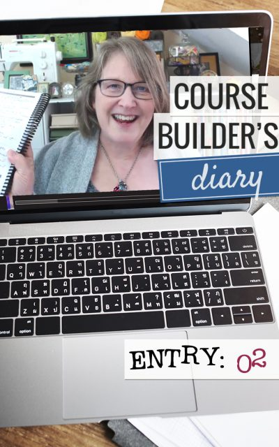 Course Builder's Diary | Entry 02