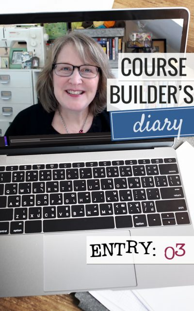 Course Builder's Diary | Entry 03