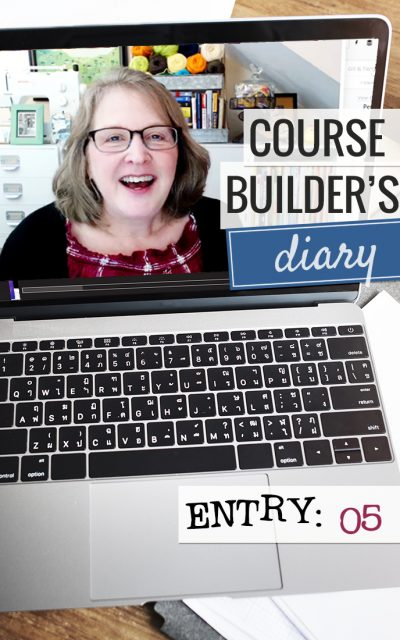 Course Builder's Diary | Entry 05