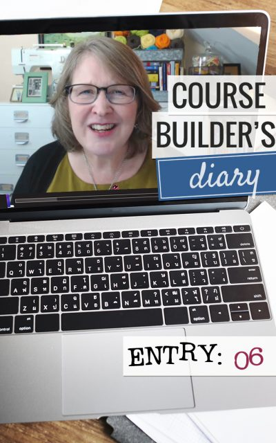 Course Builder's Diary | Entry 06