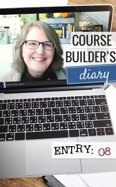 Course Builder's Diary | Entry 08 | Membership Content Planning & Creation