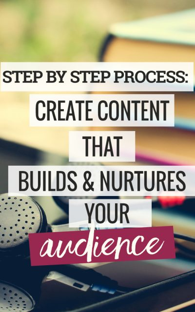 Step-by-Step Process to Create Content that Builds and Nurtures Your Audience